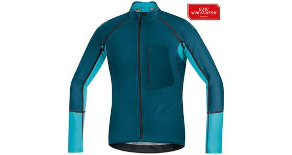 GORE BIKE WEAR Alp-X Pro WS SO Zip-Off Jersey Men ink blue/scuba blue